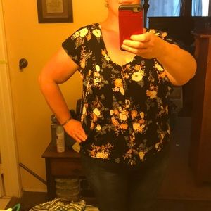 Torrid Size 2 Blouse - Light, flowy and cool!